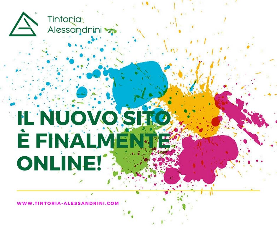 Il nuovo sito della Tintoria Alessandrini è online
