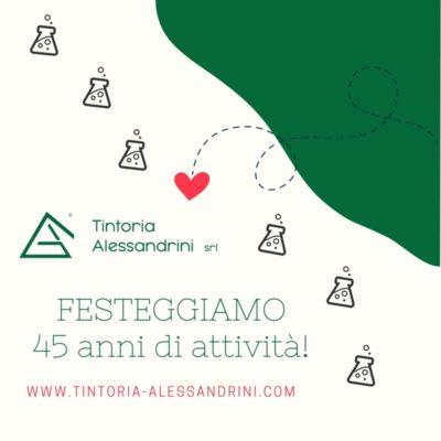 Alessandrini - 45 anni di attività